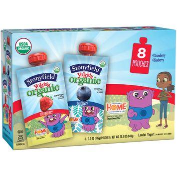 Stonyfield Yokids® Strawberry & Blueberry Organic Lowfat Yogurt