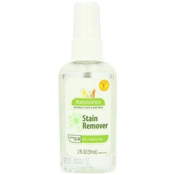 BabyGanics Stain, Stain, Go Away! On-the-go Stain Remover 2oz, Bottles (Pack of 6)
