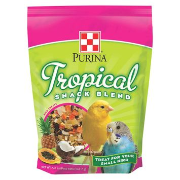 Purina Animal Nutrition, Llc Dry Pet Food Purina Tropical Small Bird Snack