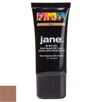 Jane Cosmetics Be Beautiful Multi-Benefit BB Cream with SPF 30 (Beige/Khaki)