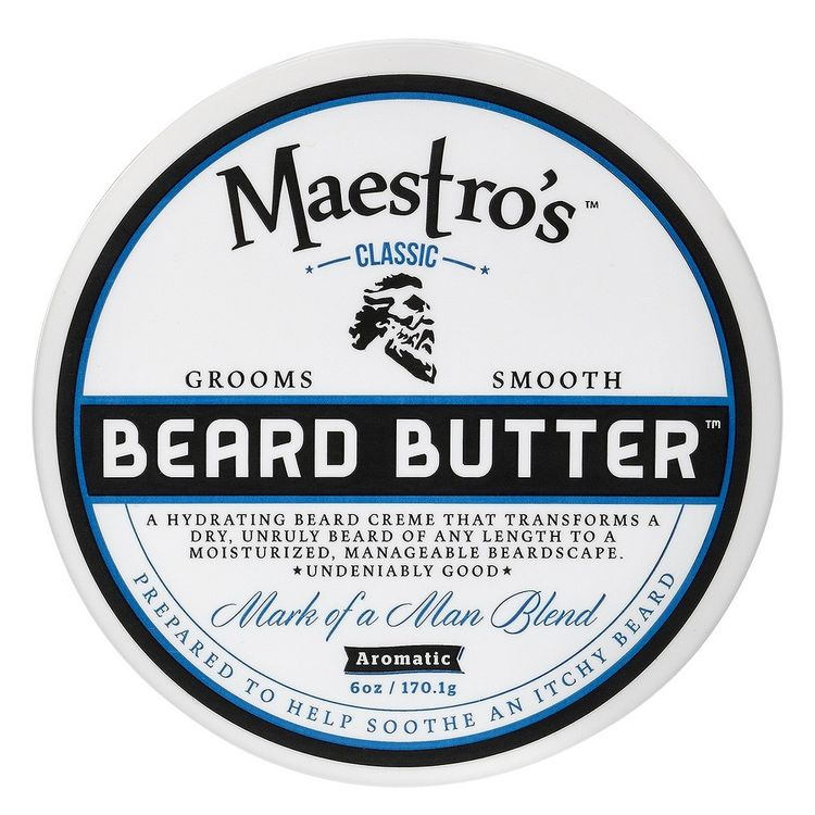 Maestro's Classic Beard Butter Mark of a Man Blend