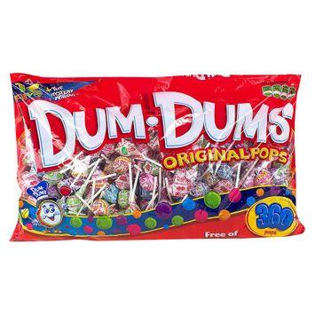 Spangler Candy Dum Dum Lollipops Variety Pack 360 Pop Bulk Bag