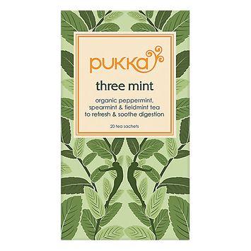Pukka Herbs - Organic Herbal Tea Three Mint - 20 Tea Bags