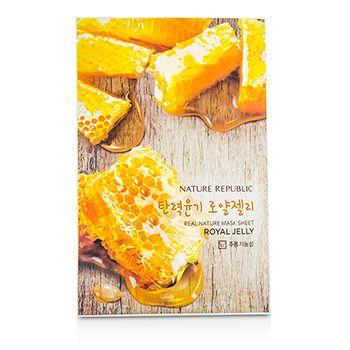 Nature Republic - Real Nature Maks Sheet (Royal Jelly) 10 sheets