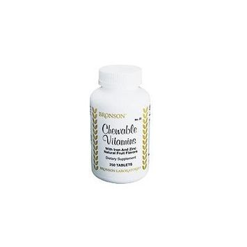 Chewable Vitamins With Iron And Zinc (250)