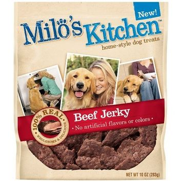 Milo's Kitchen Dog Treats, Beef Jerky
