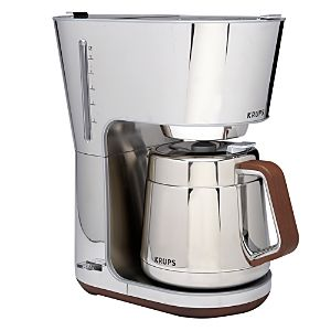 Krups Silver Art Collection 10-Cup Coffee Maker