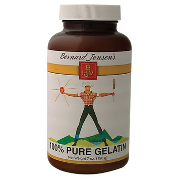 Bernard Jensen Products Gelatin Powder - 7 Ounces Powder - Other Supplements