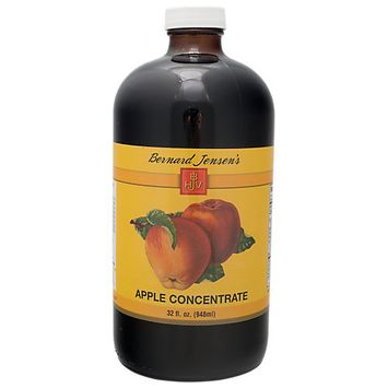 Bernard Jensen Products Apple Concentrate - 32 Ounces Liquid - Acai / Super Juices