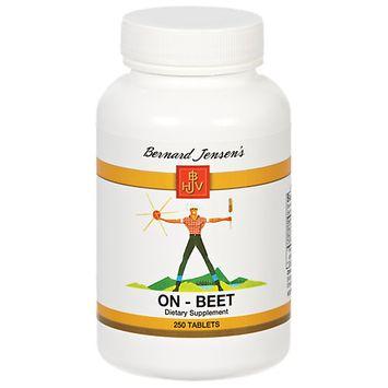 Bernard Jensen Products On-Beet - 250 Tablets - Other Green / Super Foods