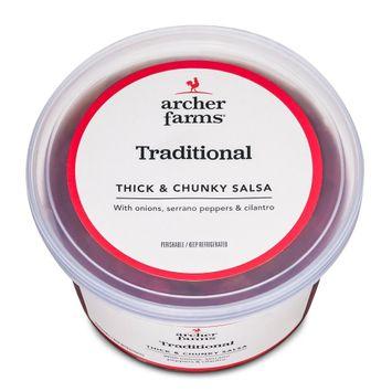 Archer Farms Mild Traditional Thick & Chunky Salsa 16 oz