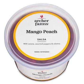 Archer Farms Mild Mango Peach Salsa 16 oz