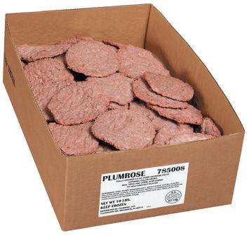 Plumrose Sausage Patty Pork Food Service