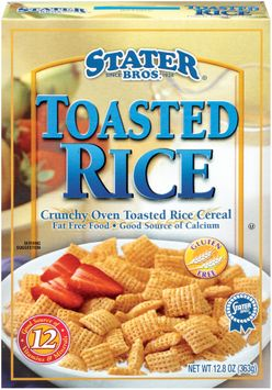 Stater bros Toasted Rice Cereal
