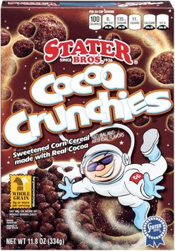 Stater bros Cocoa Crunchies Cereal