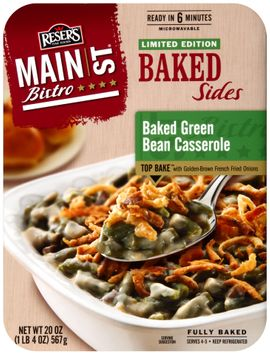 Reser's Fine Foods® Main st Bistro® Baked Green Bean Casserole Baked Sides