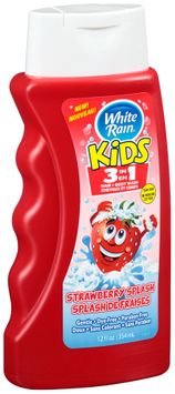 White Rain® Kids 3 in 1 Strawberry Splash Hair & Body Wash