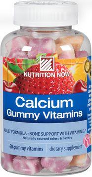 Nutrition Now® Calcium Gummy Vitamins 60 ct. Bottle