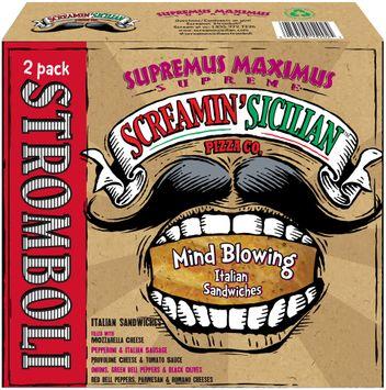 Screamin' Sicilian™ Pizza Co. Supremus Maximus Supreme Stromboli 2 ct Box