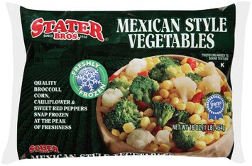 stater bros® mexican style vegetables