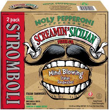 Screamin' Sicilian™ Pizza Co. Holy Pepperoni Stromboli 2 ct Box