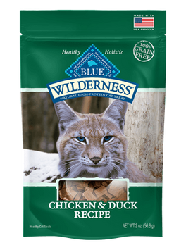 THE BLUE BUFFALO CO. BLUE™ Wilderness® Chicken & Duck Soft-Moist Cat Treats