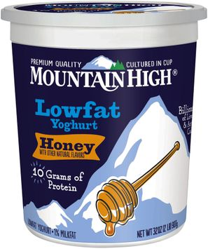 Mountain High® Honey Lowfat Yoghurt