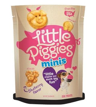 Little Piggies™ Minis Grain-Free Natural Blueberry Flavor Dog Treats