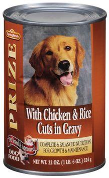 Springfield Prize W/Chicken & Rice Cuts in Gravy Dog Food
