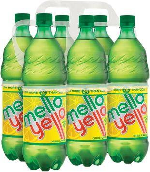 Mello Yello Citrus Soda 6 pk,
