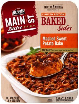 Reser's Fine Foods® Main st Bistro® Mashed Sweet Potato Bake Baked Sides