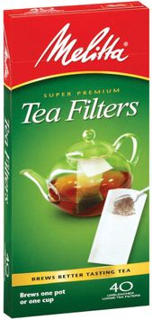Melitta® Loose Tea Filters, 40 count