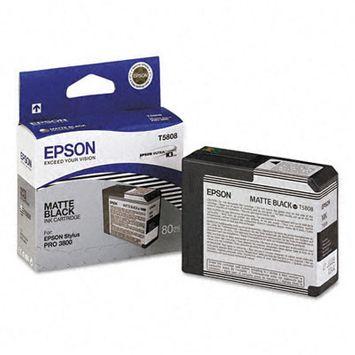 Epson T580800 UltraChrome K3 Matte Black Ink Cartridge