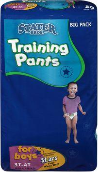 Stater bros® Training Pants for Boys 3tt 50 ct