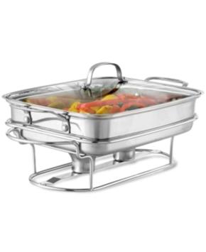 Cuisinart Classic Entertaining 5-Quart Stainless Rectangular Buffet Server