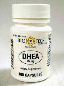 DHEA 25 mg 100 caps by Bio-Tech