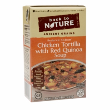 Back To Nature Reduced Sodium Soup Chicken Tortilla With Red Quinoa Soup 17.4 oz