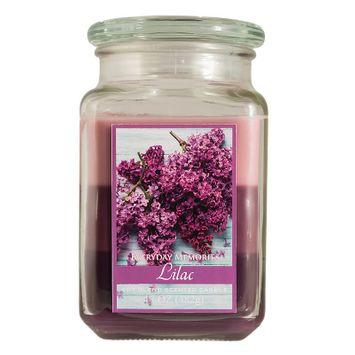 Lost Everyday Memories 17-oz. Lilac (Purple) Jar Candle