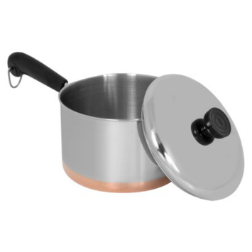 Revere 3 qt Covered Saucepan