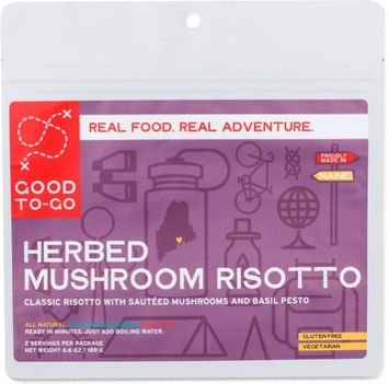 Good To Go Good To-Go Herbed Mushroom Risotto - Serves 2