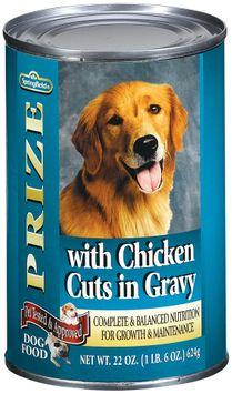 Springfield Prize Chicken Cuts in Gravy Dog Food