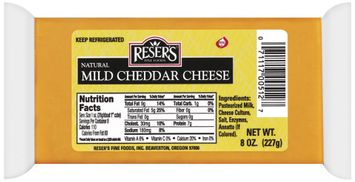 Reser's Fine Foods Natural Mild Cheddar Cheese