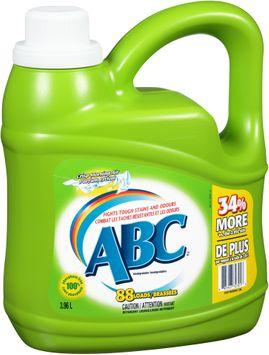 ABC™ Crisp Morning Air Liquid Laundry Detergent 3.96L Jug