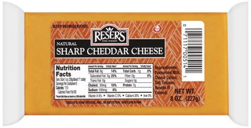 Reser's Fine Foods Natural Sharp Cheddar Cheese