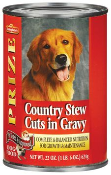 Springfield Prize W/Country Stew Cuts in Gravy Dog Food