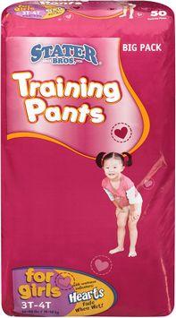 Stater bros® Training Pants for Girls 3tt 3 50 ct Bag