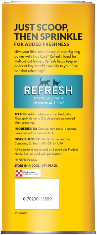 Tidy Cats Refresh Litter Box Odor Neutralizer
