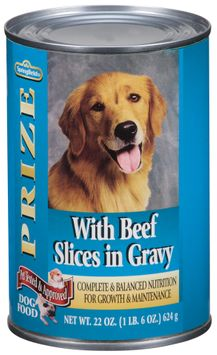 Springfield Prize W/Beef Slices in Gravy Dog Food