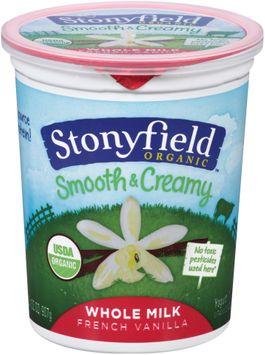 Stonyfield Organic™ Whole Milk French Vanilla Smooth & Creamy