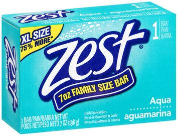 Zest Aqua Family Size Soap Bar